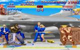 Street Fighter Collection SEGA Saturn SSF II Turbo: Dee Jay against Guile