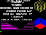 Triaxos ZX Spectrum Title Screen