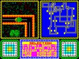 War Cars Construction Set ZX Spectrum Map of the course