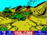 Vulcan: The Tunisian Campaign ZX Spectrum Loading Screen
