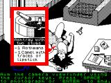 Vera Cruz ZX Spectrum Examaning the room
