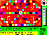 Trivial Pursuit: Baby Boomer Edition ZX Spectrum The board