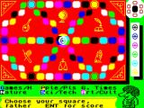 Trivial Pursuit: Young Players Edition ZX Spectrum The board