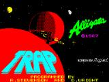 Trap ZX Spectrum Loading Screen