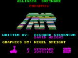 Trap ZX Spectrum Title Screen