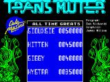 Transmuter ZX Spectrum Title Screen