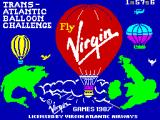 Trans-Atlantic Balloon Challenge: The Game ZX Spectrum Loading Screen