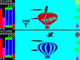 Trans-Atlantic Balloon Challenge: The Game ZX Spectrum Flying over the Atlantic