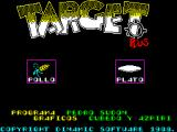 Target Plus ZX Spectrum Title Screen
