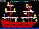 Tales of the Arabian Nights ZX Spectrum Sinbad's Ship