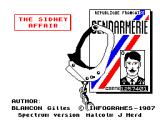 The Sydney Affair ZX Spectrum Loading Screen