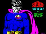 Superkid ZX Spectrum Loading Screen