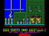 Superkid ZX Spectrum Lets save the city