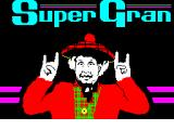 Super Gran: The Adventure ZX Spectrum Loading Screen