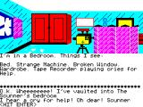 Super Gran: The Adventure ZX Spectrum Inside a bedroom