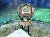 Myst V: End of Ages Macintosh Entering a portal carrying a slate