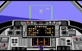 Dan Kitchen's Tomcat: The F-14 Fighter Simulator Atari 7800 An enemy plane in sight!