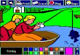 Electric Crayon: Fun on the Farm Apple II Fishing