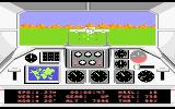 F-18 Hornet Atari 7800 I better shoot this enemy before I crash into him!