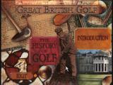 Great British Golf: Middle Ages - 1940 CD-i Menus