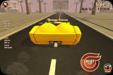 Turbo Dismount Windows Casually relaxing in a sports car.
