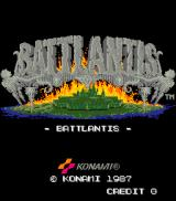 Battlantis Arcade Title Screen