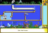The Incredible Machine 2 DOS The solution for the first puzzle