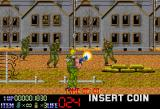 Spinal Breakers Arcade Starting stage 1, shoot down zombie Nazis