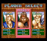 Knights of the Round SNES Pick your character