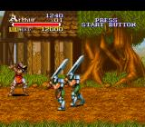 Knights of the Round SNES The weight of their swords slow them down