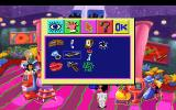 Leisure Suit Larry 1:  In the Land of the Lounge Lizards DOS Larry is proudly showing his inventory in the casino