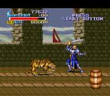Knights of the Round SNES Tigers are very quick but easy to kill