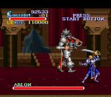 Knights of the Round SNES The boss known as Arlon