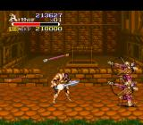 Knights of the Round SNES Archers get in quick and they have no chance