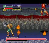 Knights of the Round SNES Super demon samurai balls of fire rain the sky
