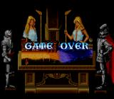 Knights of the Round SNES Game over