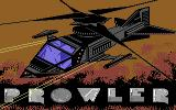 Prowler Commodore 64 Title screen