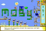 The Incredible Machine 2 DOS Add scenery to your puzzles