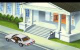 Police Quest 3: The Kindred DOS An animation showing Sonny getting into his car near the Supreme Court building