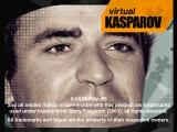 Virtual Kasparov PlayStation Title screen.