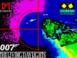 James Bond 007 in The Living Daylights: The Computer Game ZX Spectrum Loading Screen