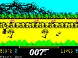 James Bond 007 in The Living Daylights: The Computer Game ZX Spectrum Level One