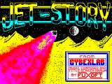 Jet-Story ZX Spectrum Loading Screen