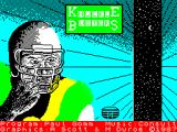 Knuckle Busters ZX Spectrum Loading Screen