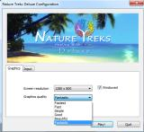 Nature Treks: Healing with Color Deluxe Windows Configuration: Select resolution and graphic quality. You can play the game windowed or fullscreen.