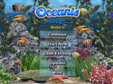 Oceanis Windows Main menu