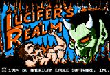Lucifer's Realm Apple II Title Screen