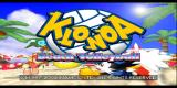 Klonoa Beach Volleyball PlayStation Title screen.