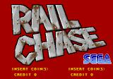 Rail Chase Arcade Title Screen