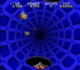Tube Panic Arcade Go through a warp hole for a quick jump forward